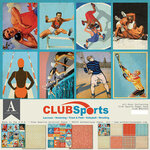 Authentique Paper - 12 x 12 Collection Pack - Club Sports