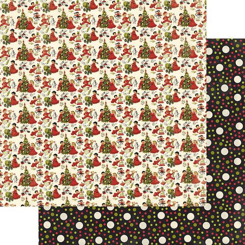 Authentique Paper - A Magical Christmas Collection - 12 x 12 Double Sided Paper - One