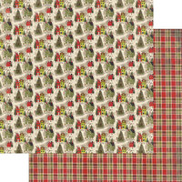 Authentique Paper - A Magical Christmas Collection - 12 x 12 Double Sided Paper - Four