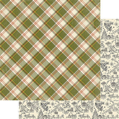 Authentique Paper - A Magical Christmas Collection - 12 x 12 Double Sided Paper - Six