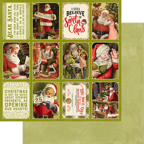 Authentique Paper - A Magical Christmas Collection - 12 x 12 Double Sided Paper - Eight