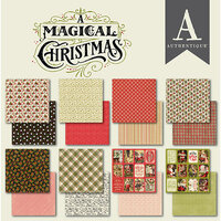 Authentique Paper - A Magical Christmas Collection - 6 x 6 Paper Pad Bundle
