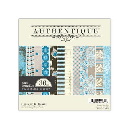 Authentique Paper - Journey Collection - 6 x 6 Paper Bundle