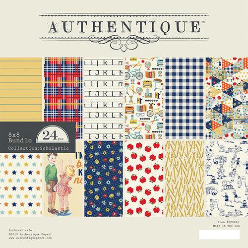Authentique Paper - Scholastic Collection - 8 x 8 Paper Pad Bundle