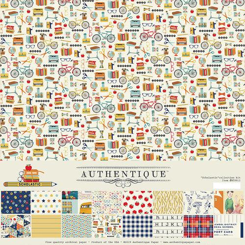 Authentique Paper - Scholastic Collection - 12 x 12 Collection Kit