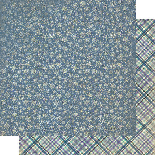 Authentique Paper - Calendar Collection - 12 x 12 Double Sided Paper - January Patterns