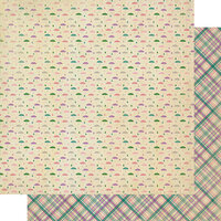 Authentique Paper - Calendar Collection - 12 x 12 Double Sided Paper - April Patterns