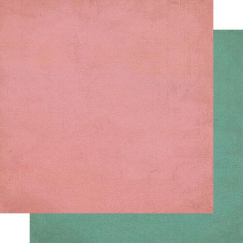 Authentique Paper - Calendar Collection - 12 x 12 Double Sided Paper - April Solids