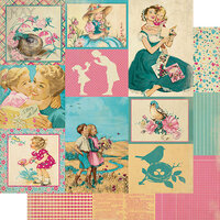 Authentique Paper - Calendar Collection - 12 x 12 Double Sided Paper - May Images