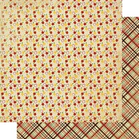 Authentique Paper - Calendar Collection - 12 x 12 Double Sided Paper - September Patterns