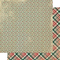 Authentique Paper - Christmas - Calendar Collection - 12 x 12 Double Sided Paper - December Patterns