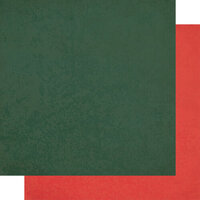 Authentique Paper - Christmas - Calendar Collection - 12 x 12 Double Sided Paper - December Solids