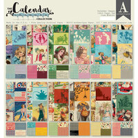 Authentique Paper - Calendar Collection - 12 x 12 Paper Pad - Images Pad