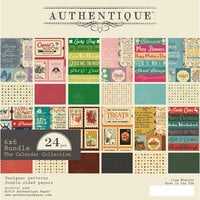 Authentique Paper - Calendar Collection - 6 x 6 Paper Pad Bundle