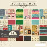 Authentique Paper - Calendar Collection - 6 x 6 Paper Bundle