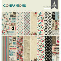 Authentique Paper - Companions Collection - 12 x 12 Double-Sided Paper Pad