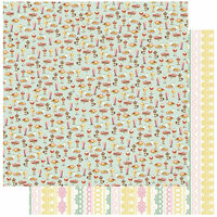 Authentique Paper - Confection Collection - 12 x 12 Double-Sided Paper - One