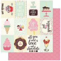Authentique Paper - Confection Collection - 12 x 12 Double-Sided Paper - Four