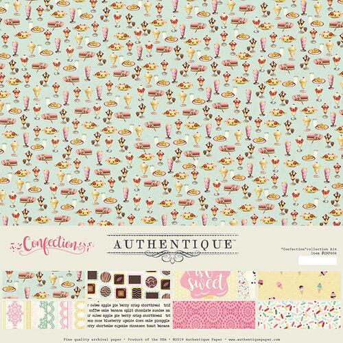 Authentique Paper - Confection Collection - 12 x 12 Collection Kit