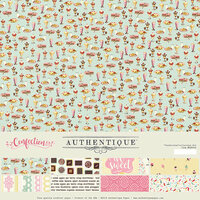 Authentique Paper - Confection Collection - 12 x 12 Collection Kit