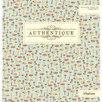 Authentique Paper - Confection Collection - 12 x 12 Paper Pad
