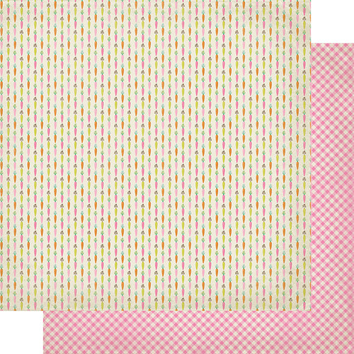 Authentique Paper - Cottontail Collection - 12 x 12 Double Sided Paper - One