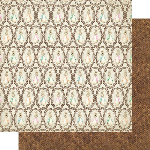 Authentique Paper - Cottontail Collection - 12 x 12 Double Sided Paper - Five