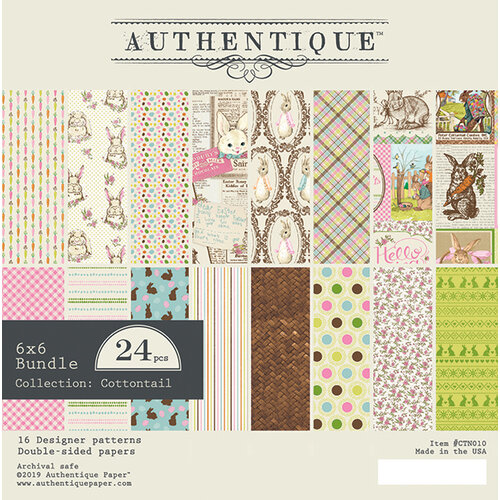 Authentique Double-Sided Cardstock Pad Cottontail에 대한 이미지 검색결과
