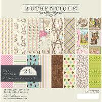 Authentique Paper - Cottontail Collection - 6 x 6 Bundle
