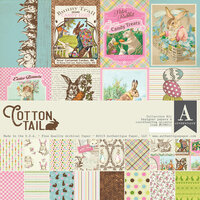 Authentique Paper - Cottontail Collection - 12 x 12 Collection Kit