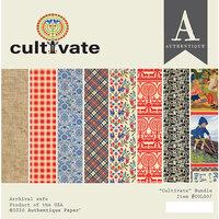 Authentique Paper - Cultivate Collection - 6 x 6 Paper Pad Bundle