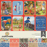 Authentique Paper - Cultivate Collection - 12 x 12 Collection Kit