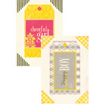 Authentique Paper - Margie Romney-Aslett - Blissful Collection - Headlines - Die Cut Cardstock Titles 2