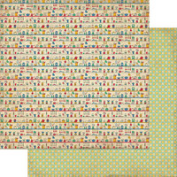 Authentique Paper - Delicious Collection - 12 x 12 Double Sided Paper - Number Three