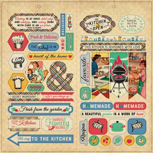Authentique Paper - Delicious Collection - Elements