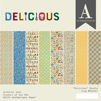 Authentique Paper - Delicious Collection - 6 x 6 Paper Pad Bundle