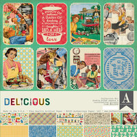 Authentique Paper - Delicious Collection - 12 x 12 Collection Kit