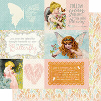 Authentique Paper - Dreamy Collection - 12 x 12 Double-Sided Paper - Six