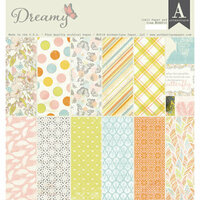 Authentique Paper - Dreamy Collection - 12 x 12 Double-Sided Paper Pad