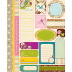 Authentique Paper - Splendid Collection - Die Cut Cardstock Pieces - Tabloids