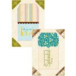 Authentique Paper - Splendid Collection - Headlines - Die Cut Cardstock Titles 1