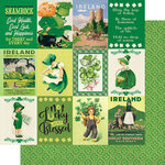 Authentique Paper - Dublin Collection - 12 x 12 Double Sided Paper - Eight
