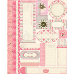Authentique Paper - Uncommon Collection - Die Cut Cardstock Pieces - Tabloids