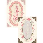Authentique Paper - Uncommon Collection - Headlines - Die Cut Cardstock Titles 2