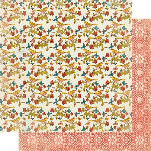 Authentique Paper - Endless Collection - 12 x 12 Double Sided Paper - One