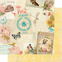 Authentique Paper - Endless Collection - 12 x 12 Double Sided Paper - Three