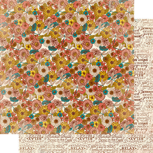 Authentique Paper - Endless Collection - 12 x 12 Double Sided Paper - Six