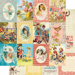 Authentique Paper - Endless Collection - 12 x 12 Double Sided Paper - Eight