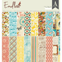 Authentique Paper - Endless Collection - 12 x 12 Double Sided Paper Pad