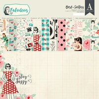Authentique Paper - Fabulous Collection - 12 x 12 Paper Pad